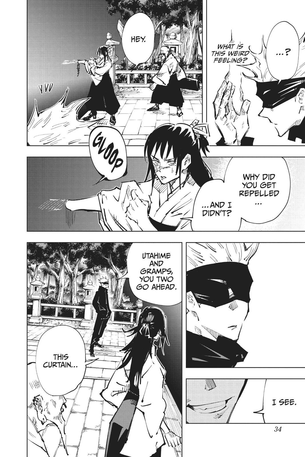 Jujutsu Kaisen, Chapter 45 image 007