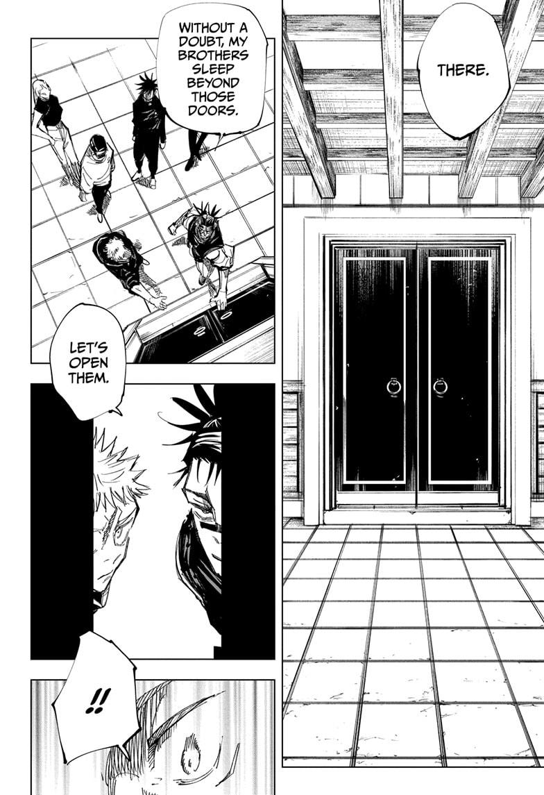 Jujutsu Kaisen, Chapter 144 image 012