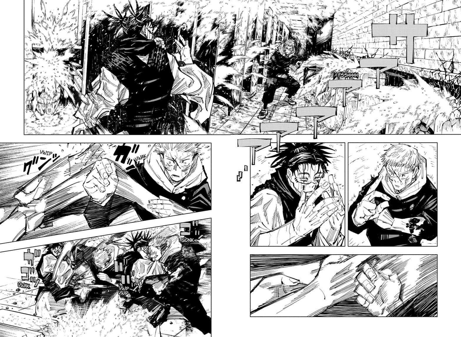 Jujutsu Kaisen, Chapter 104 image 016