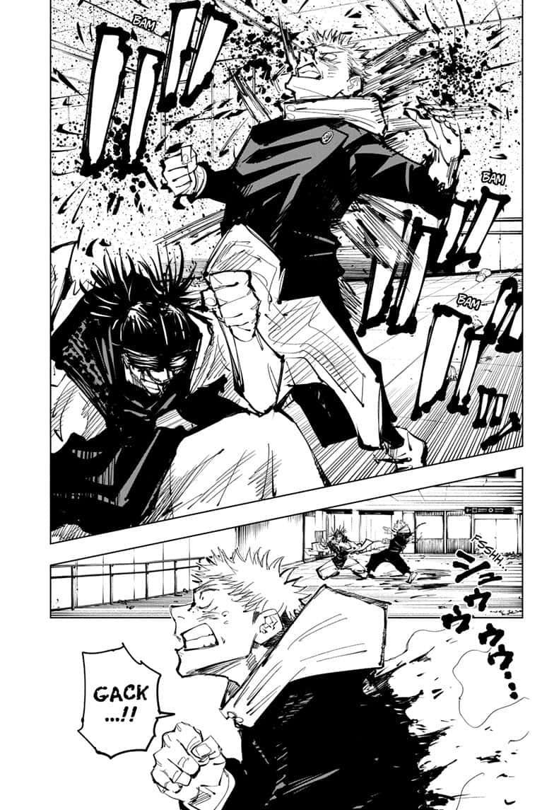 Jujutsu Kaisen, Chapter 103 image 009
