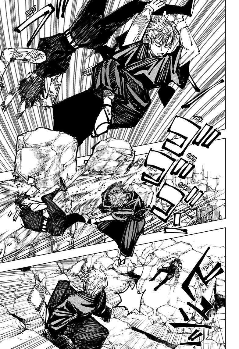 Jujutsu Kaisen, Chapter 151 image 009