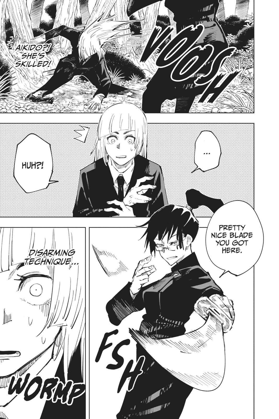 Jujutsu Kaisen, Chapter 40 image 009