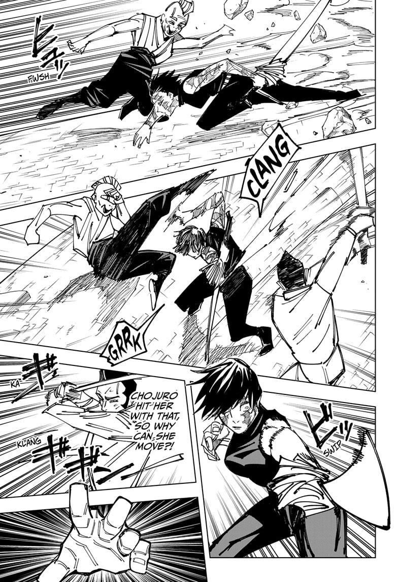 Jujutsu Kaisen, Chapter 150 image 015