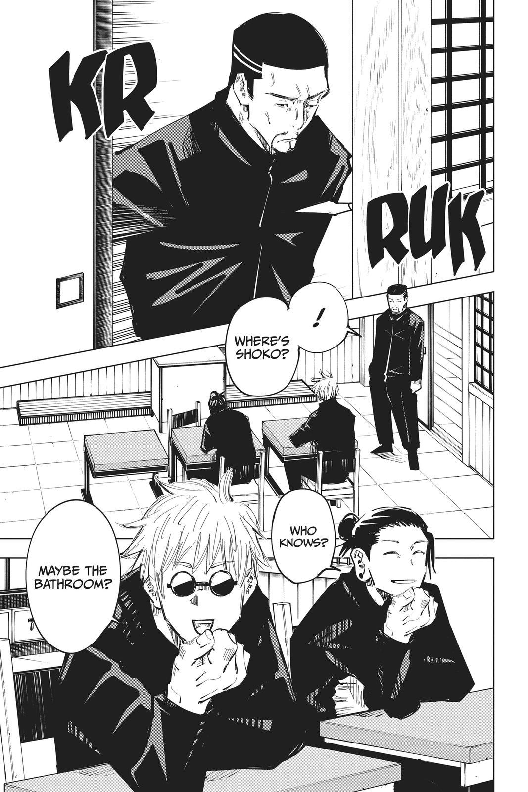 Jujutsu Kaisen, Chapter 65 image 019