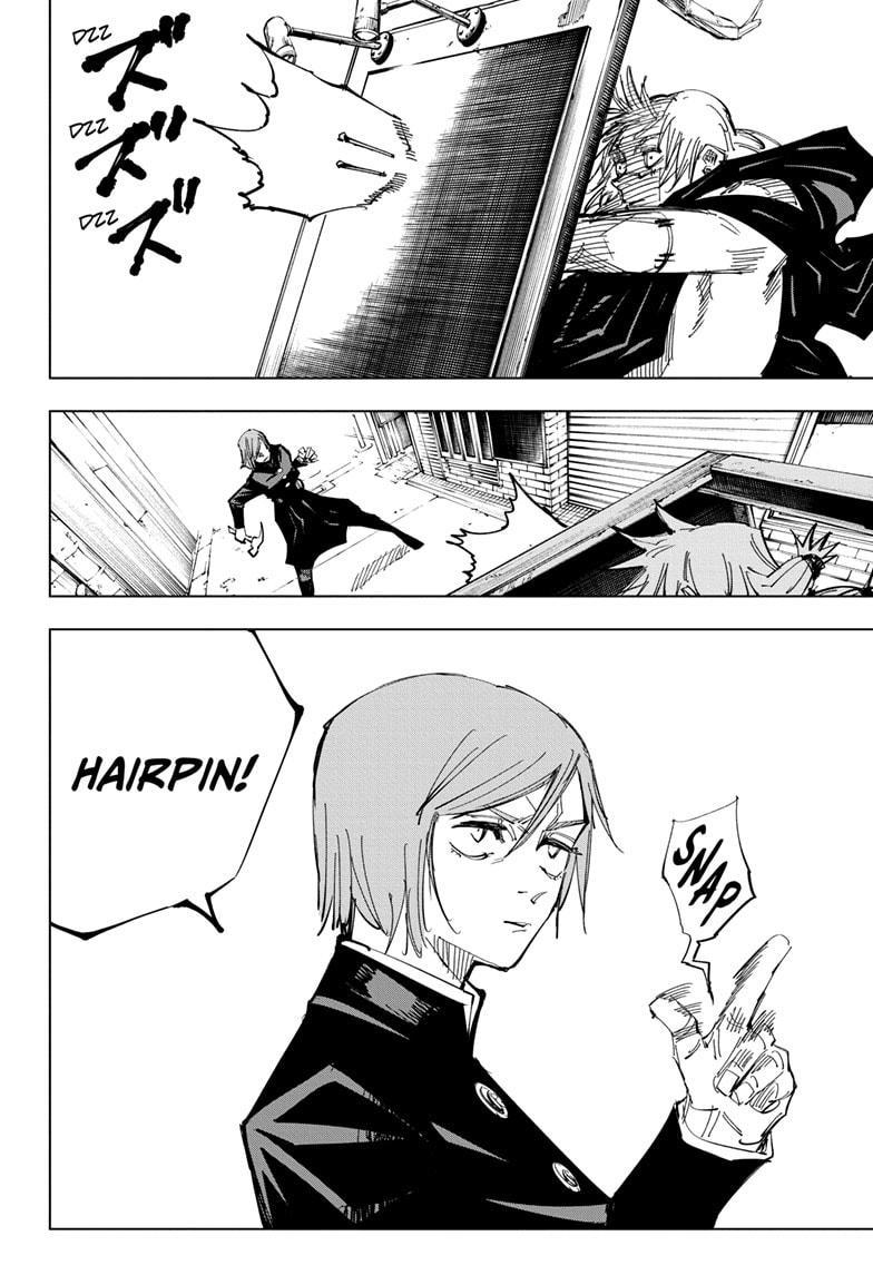 Jujutsu Kaisen, Chapter 122 image 018