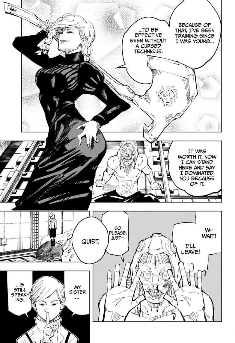 Jujutsu Kaisen, Chapter 98 image 013