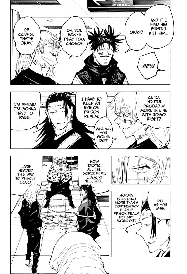 Jujutsu Kaisen, Chapter 93 image 004