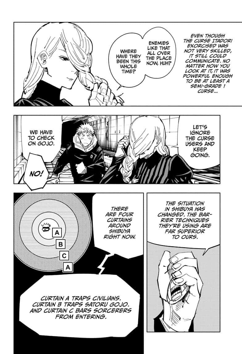 Jujutsu Kaisen, Chapter 91 image 010