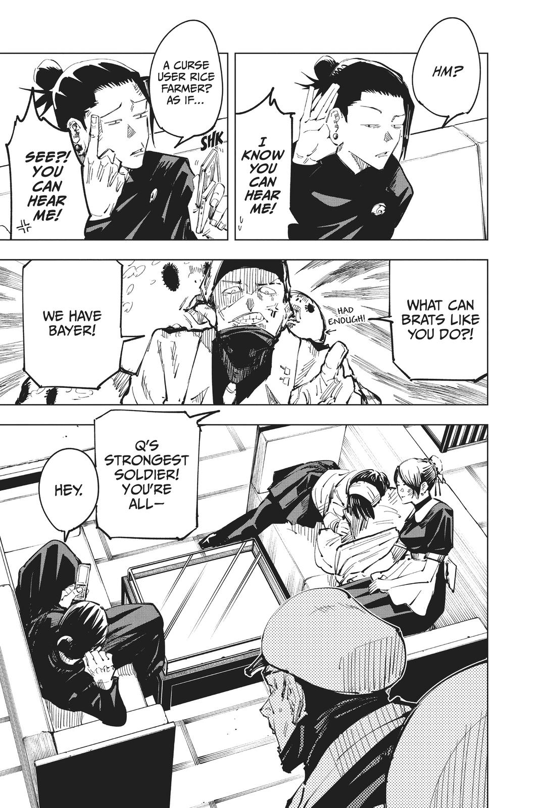 Jujutsu Kaisen, Chapter 67 image 003