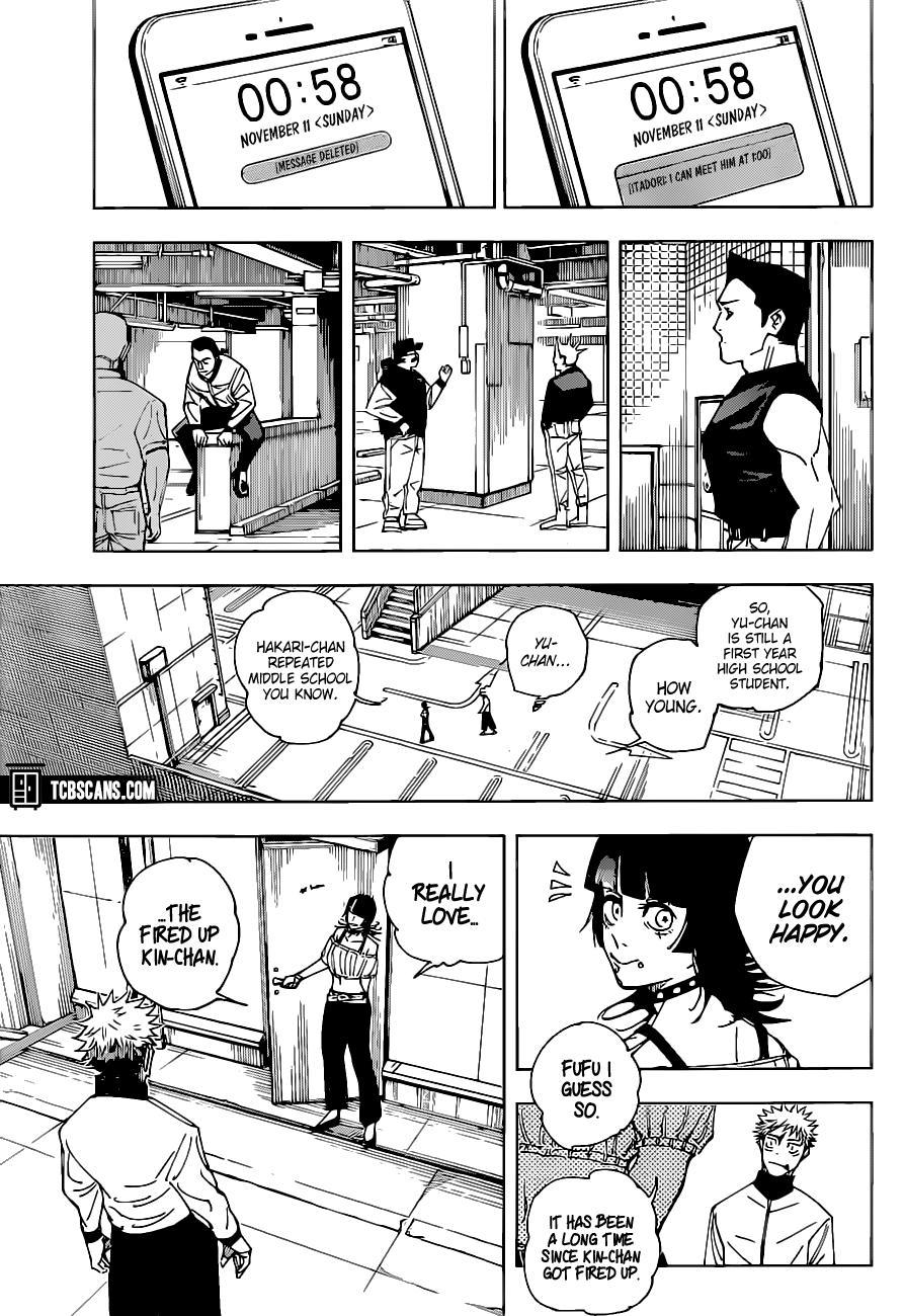 Jujutsu Kaisen, Chapter 154 image 006