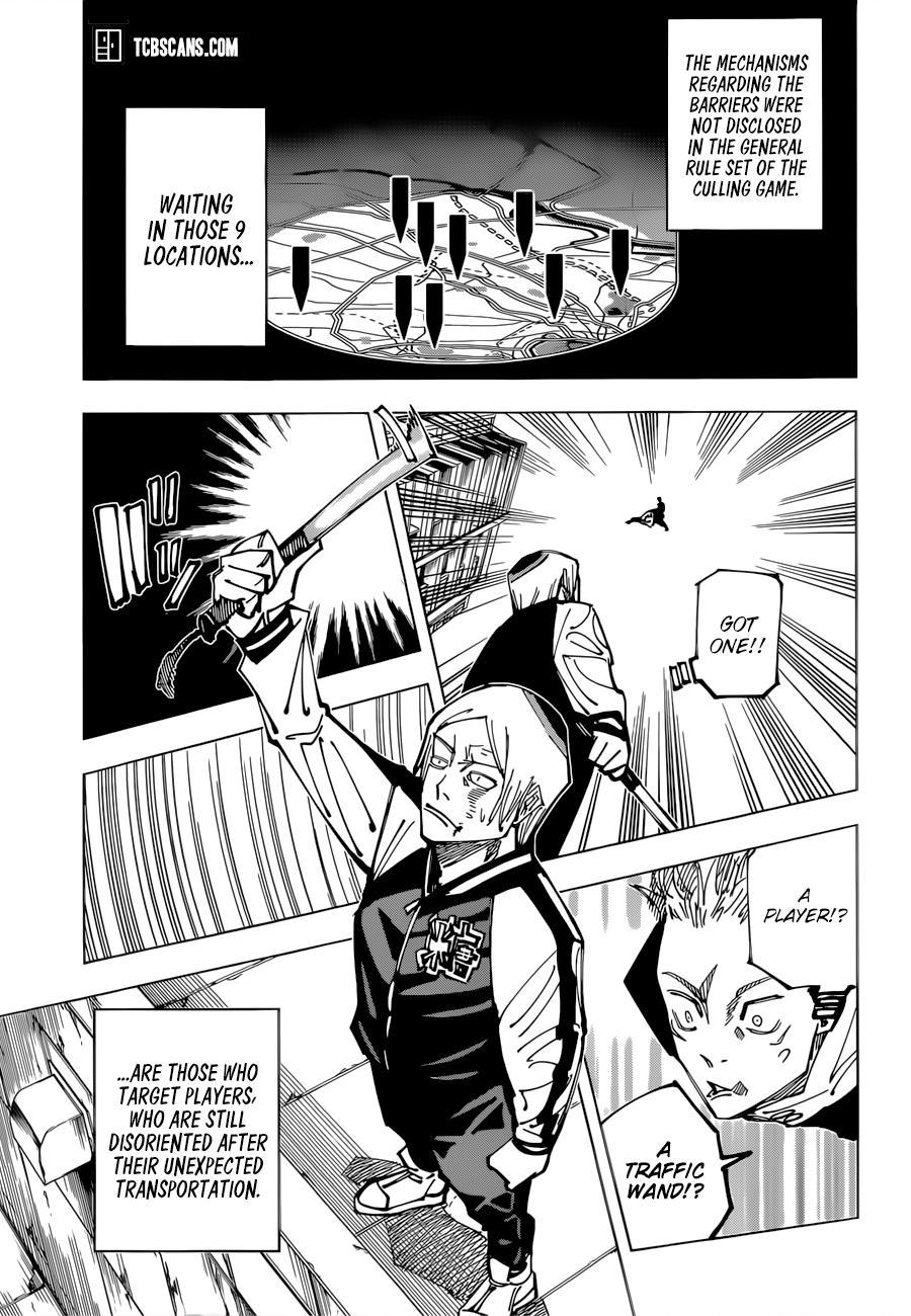 Jujutsu Kaisen, Chapter 161 image 08
