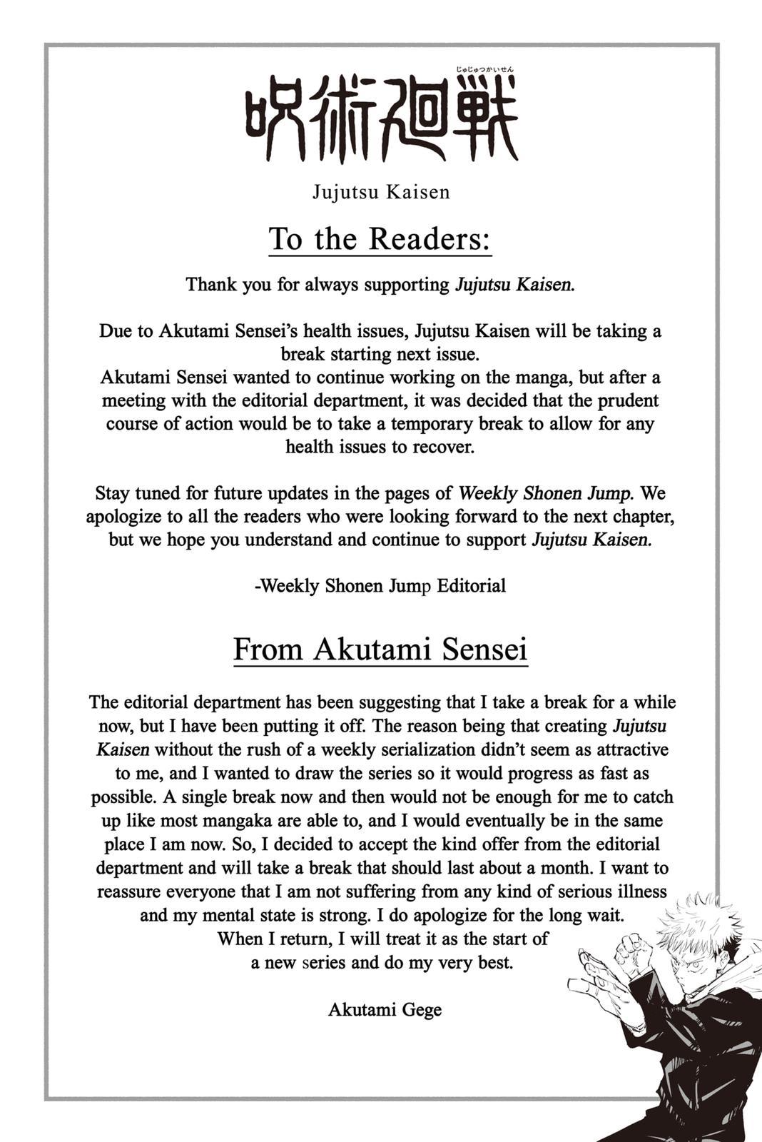 Jujutsu Kaisen, Chapter 152 image 010