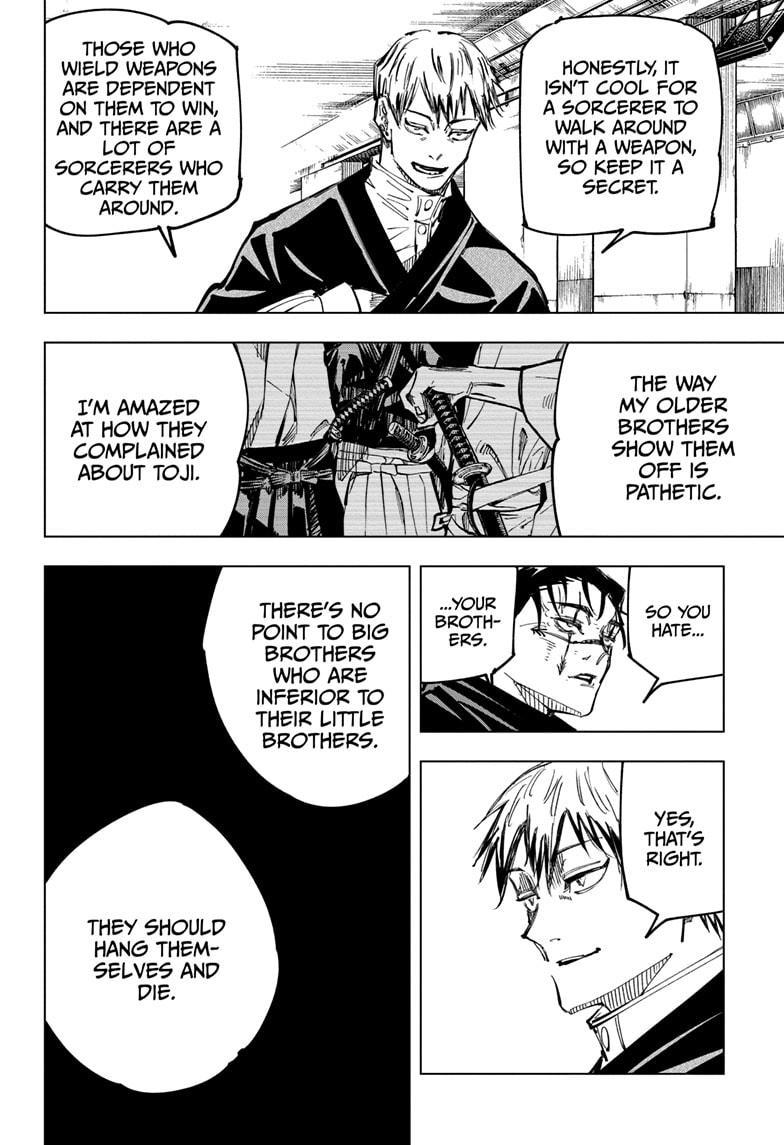 Jujutsu Kaisen, Chapter 142 image 006