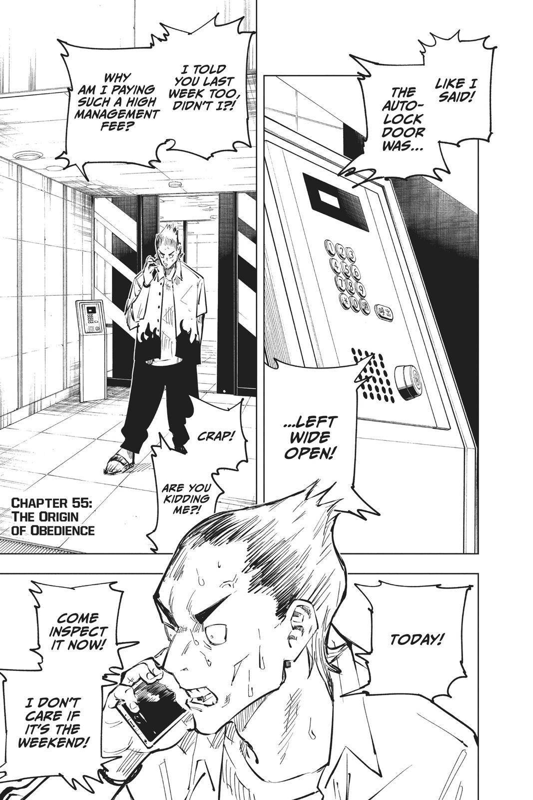 Jujutsu Kaisen, Chapter 55 image 001