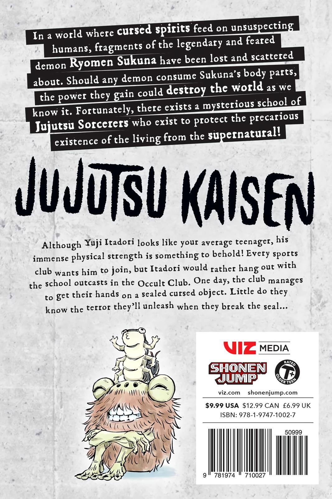 Jujutsu Kaisen, Chapter 7 image 021
