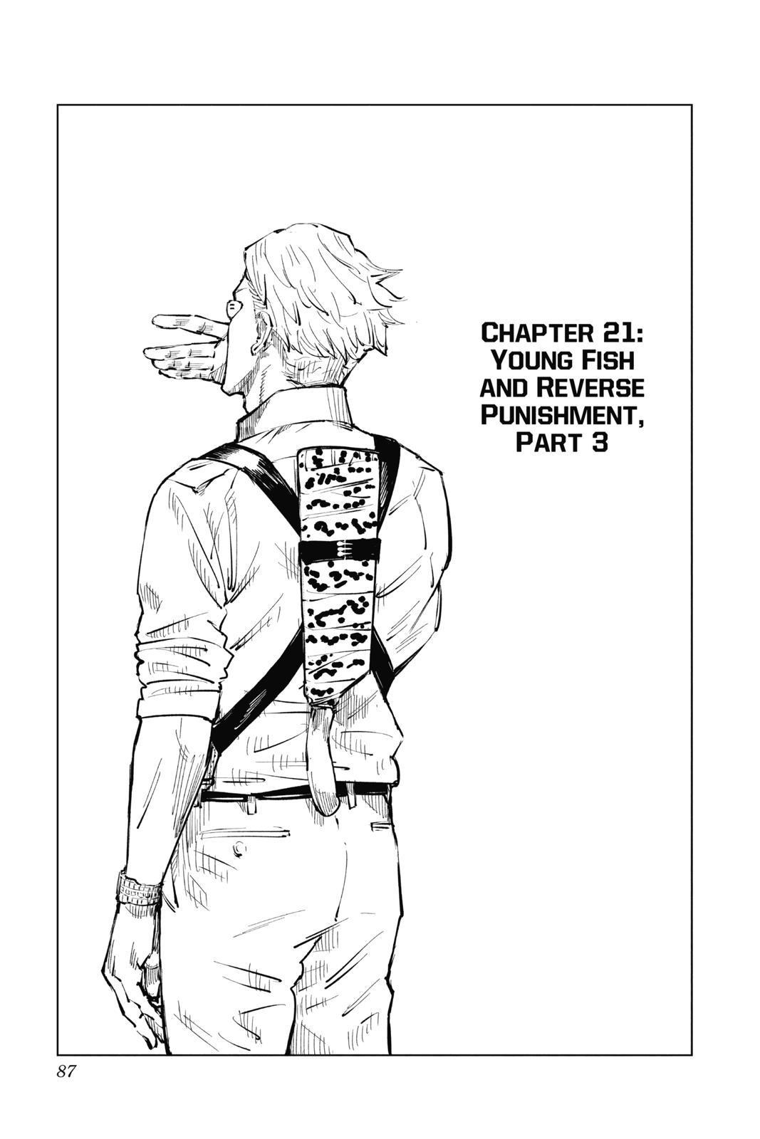 Jujutsu Kaisen, Chapter 21 image 001