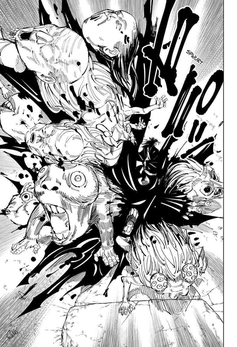 Jujutsu Kaisen, Chapter 136 image 017