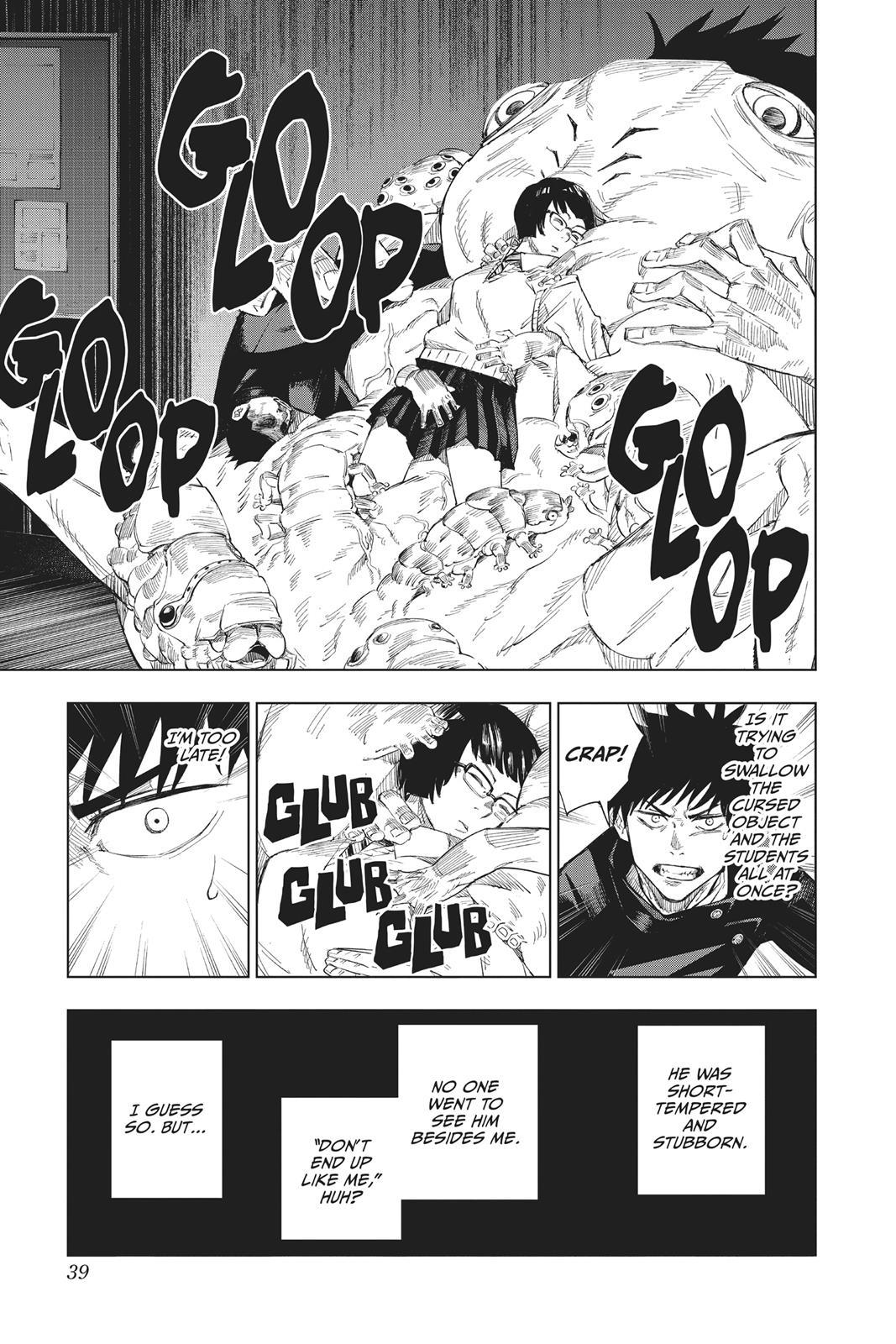 Jujutsu Kaisen, Chapter 1 image 039