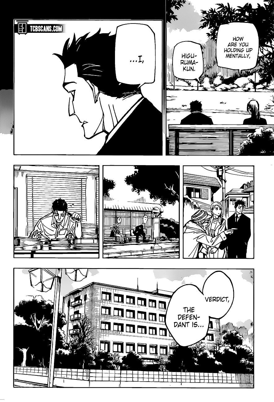 Jujutsu Kaisen, Chapter 159 image 10
