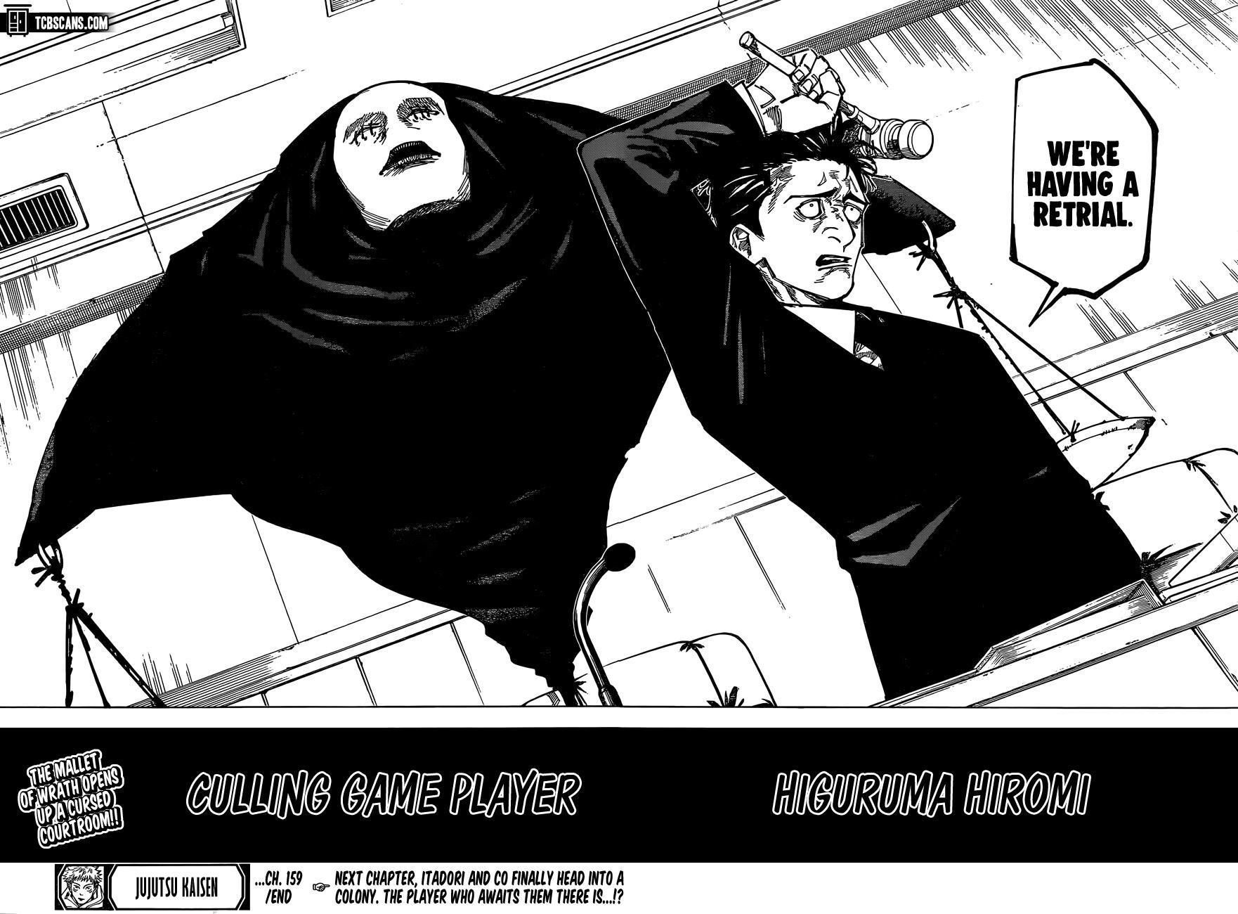 Jujutsu Kaisen, Chapter 159 image 18