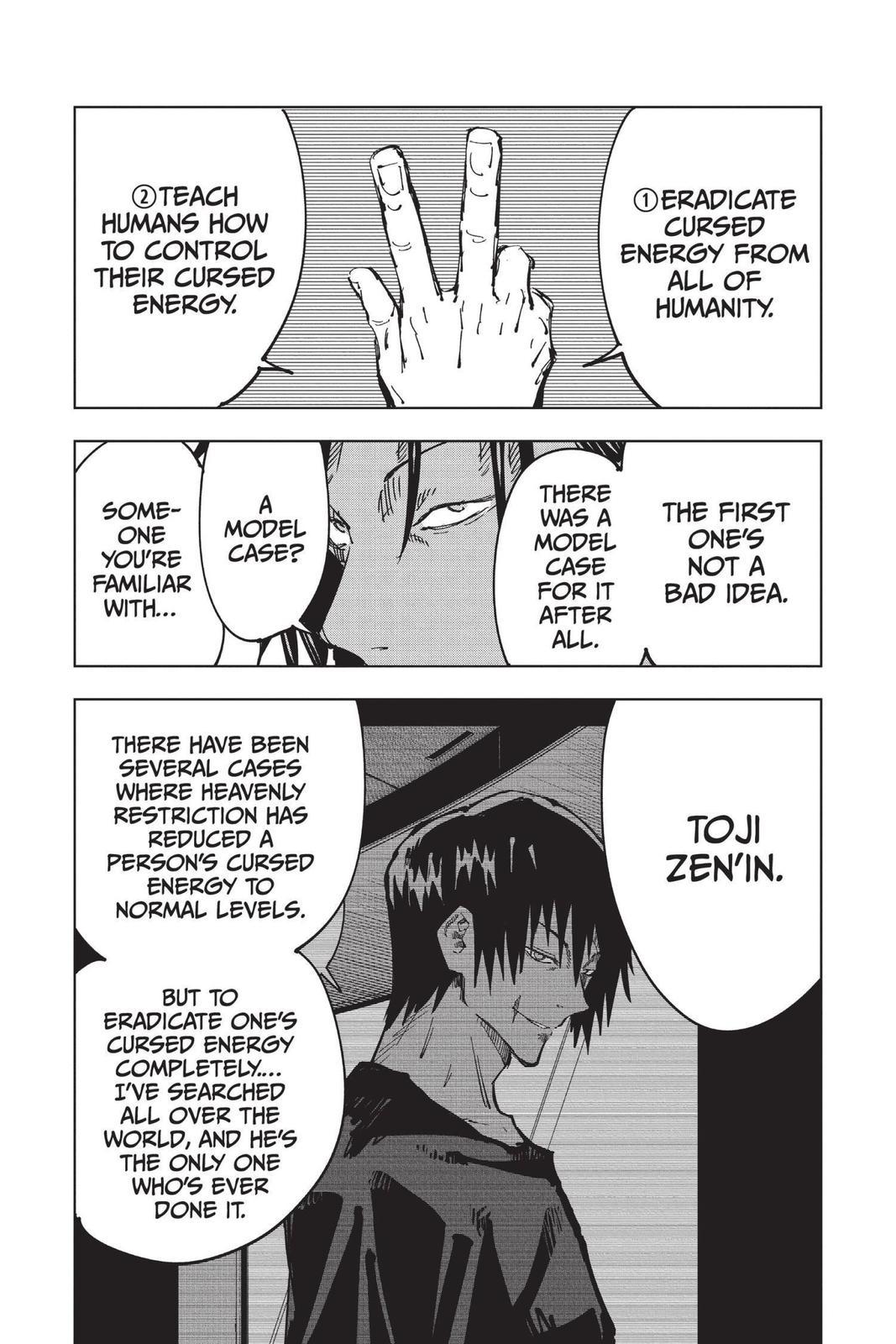 Jujutsu Kaisen, Chapter 77 image 007