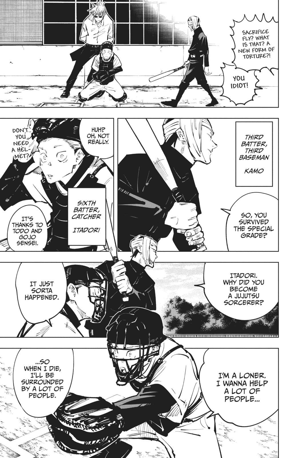 Jujutsu Kaisen, Chapter 54 image 007