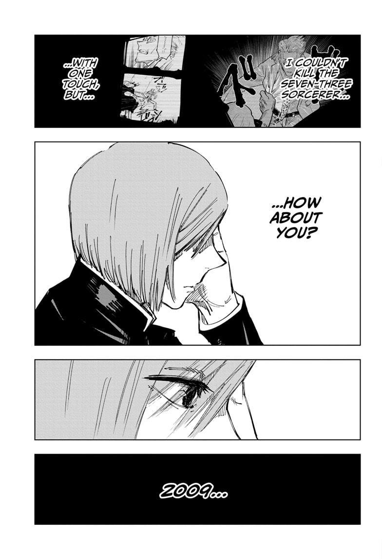 Jujutsu Kaisen, Chapter 124 image 016