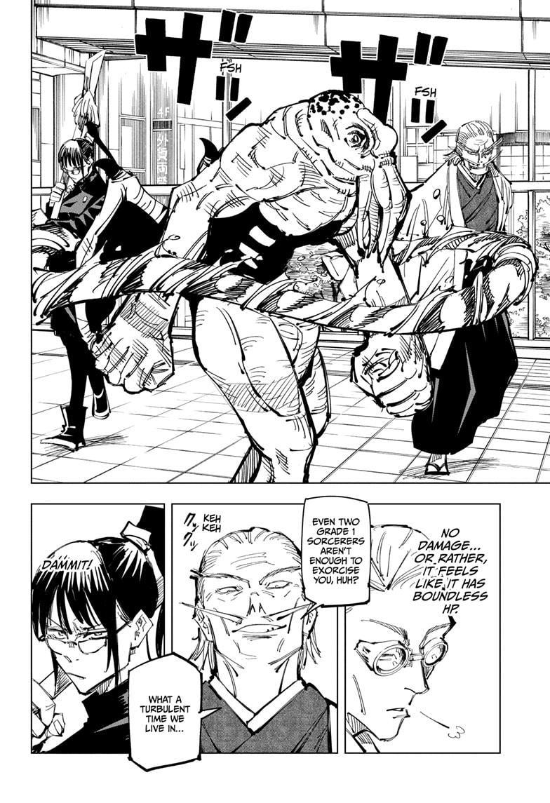 Jujutsu Kaisen, Chapter 107 image 012