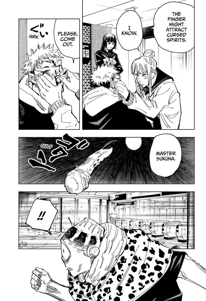 Jujutsu Kaisen, Chapter 111 image 017