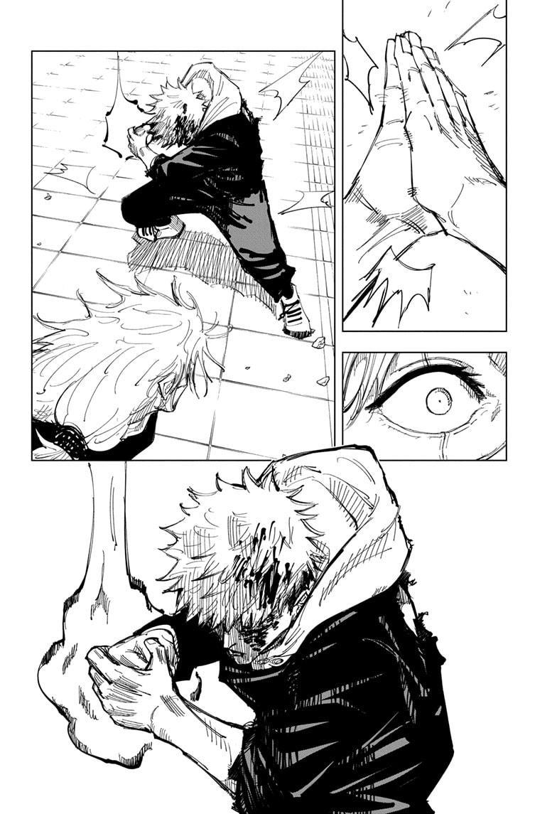 Jujutsu Kaisen, Chapter 127 image 017