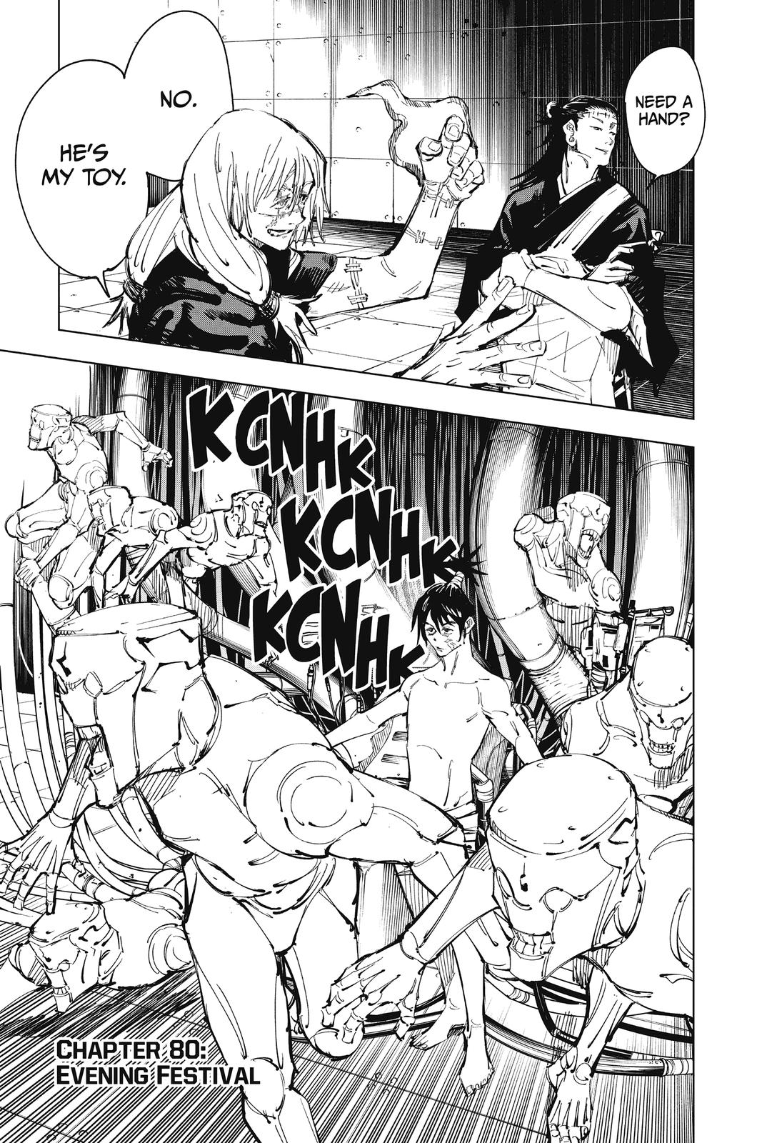 Jujutsu Kaisen, Chapter 80 image 007