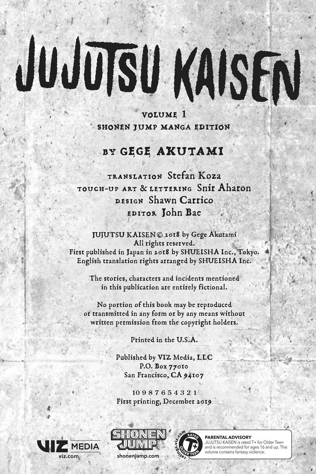 Jujutsu Kaisen, Chapter 1 image 003