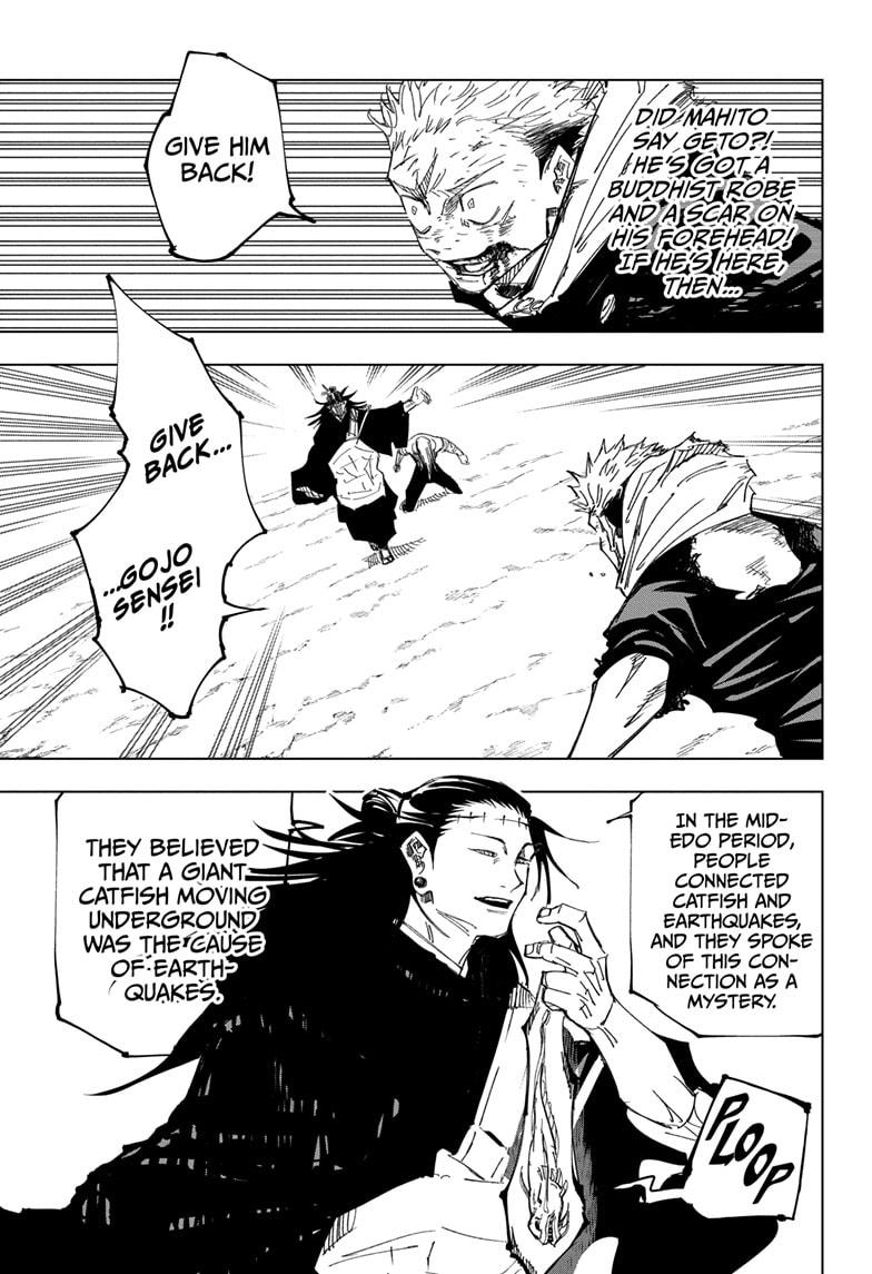 Jujutsu Kaisen, Chapter 133 image 011