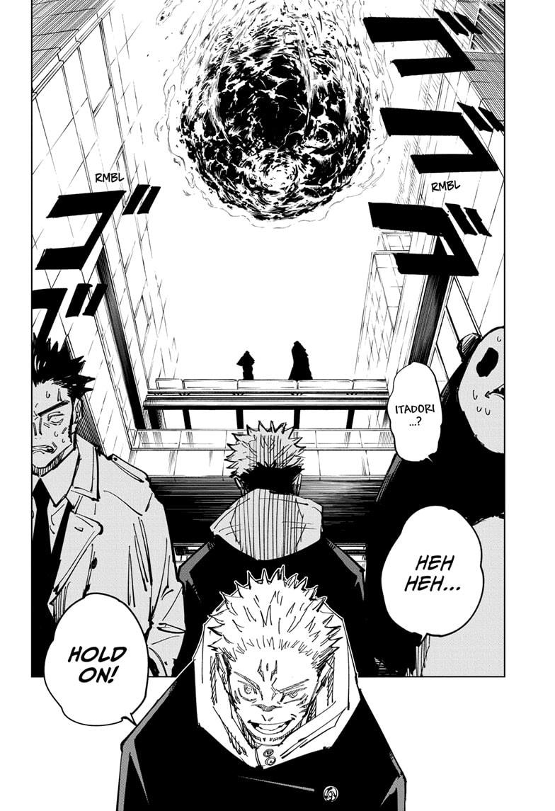 Jujutsu Kaisen, Chapter 115 image 012