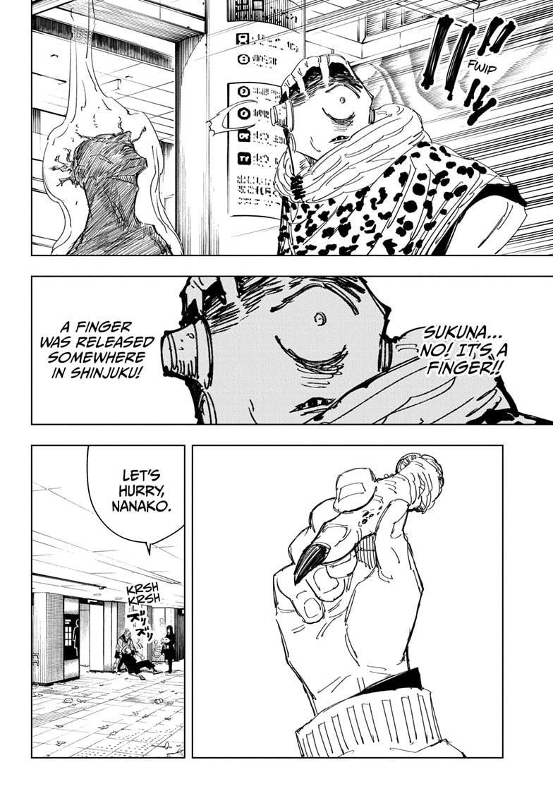 Jujutsu Kaisen, Chapter 111 image 016