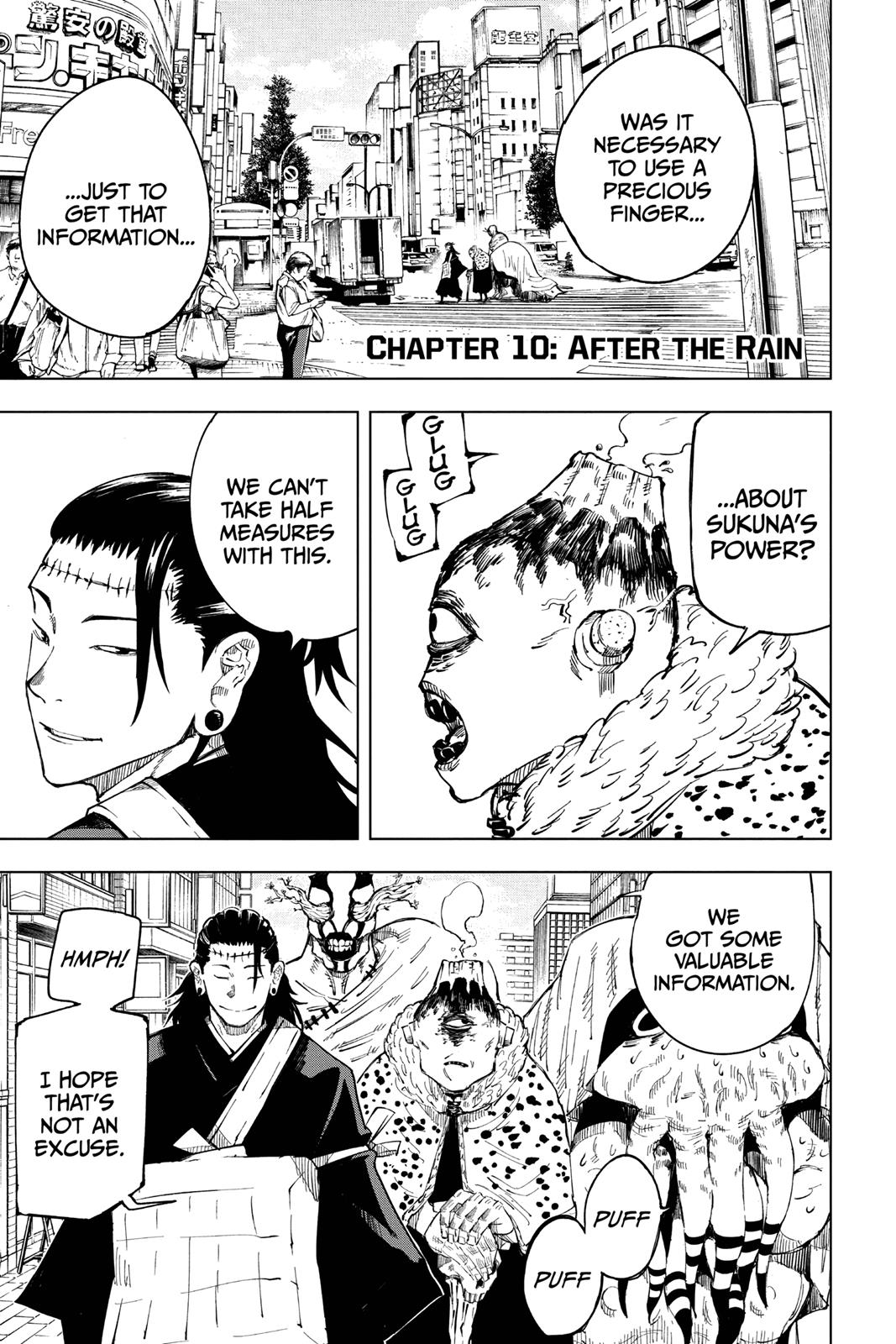 Jujutsu Kaisen, Chapter 10 image 001