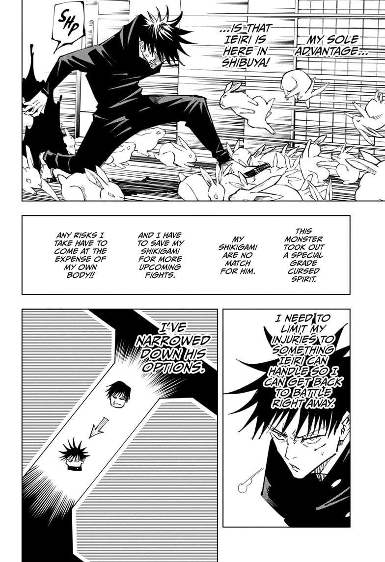 Jujutsu Kaisen, Chapter 113 image 009