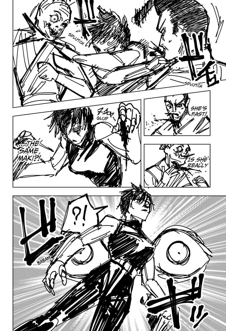 Jujutsu Kaisen, Chapter 150 image 016