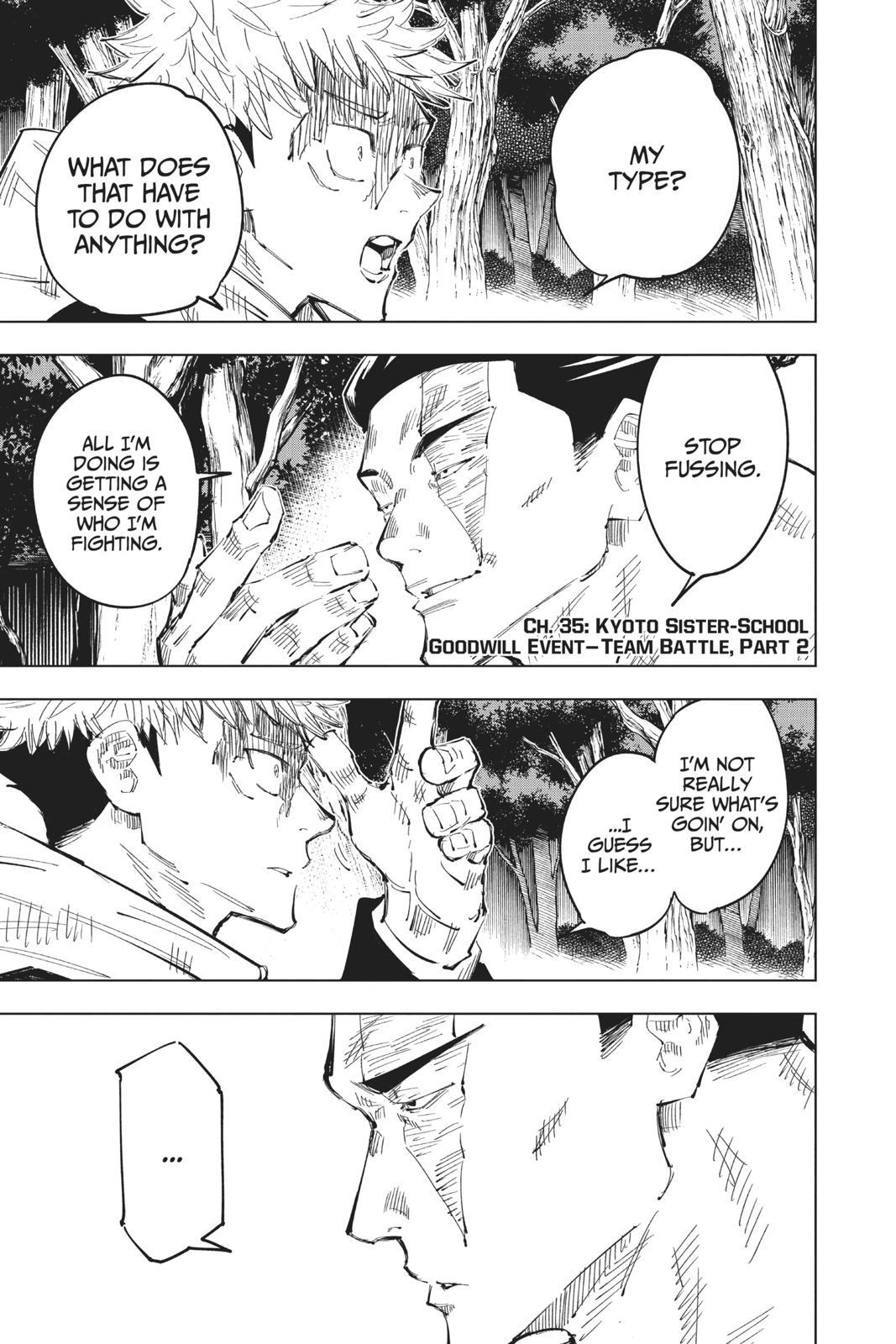 Jujutsu Kaisen, Chapter 35 image 007