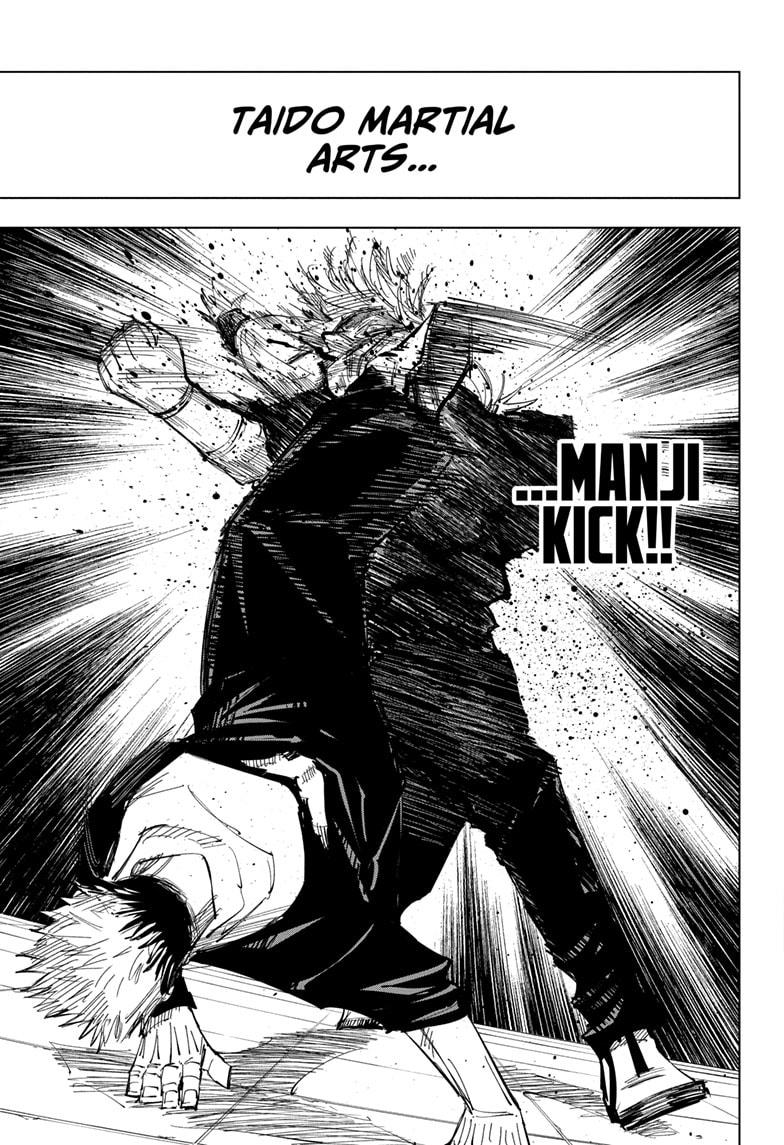 Jujutsu Kaisen, Chapter 121 image 016