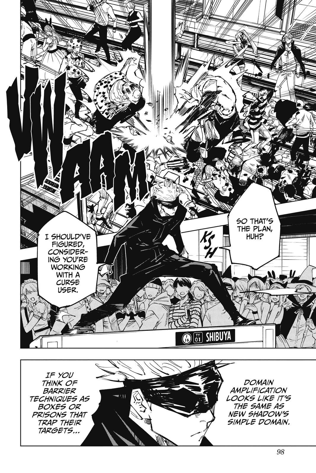 Jujutsu Kaisen, Chapter 84 image 010