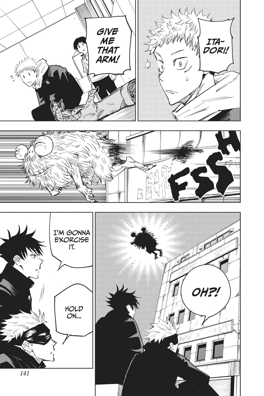 Jujutsu Kaisen, Chapter 5 image 011