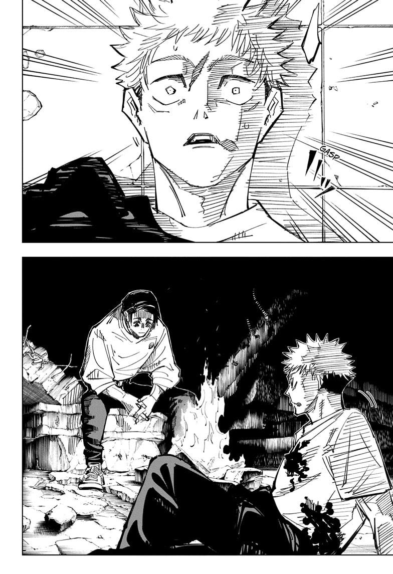 Jujutsu Kaisen, Chapter 143 image 006