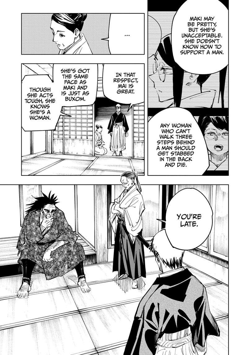 Jujutsu Kaisen, Chapter 138 image 003