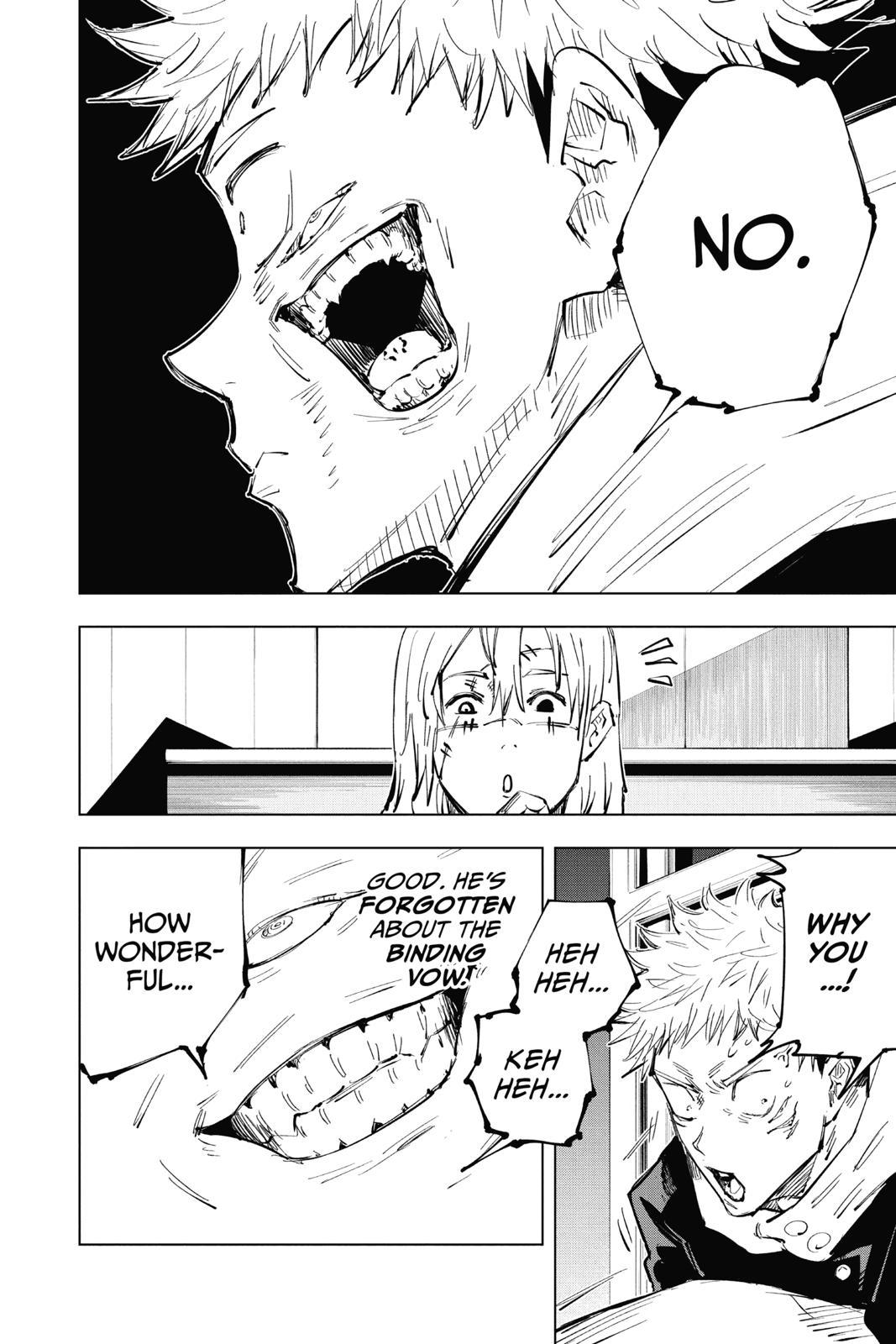 Jujutsu Kaisen, Chapter 27 image 010