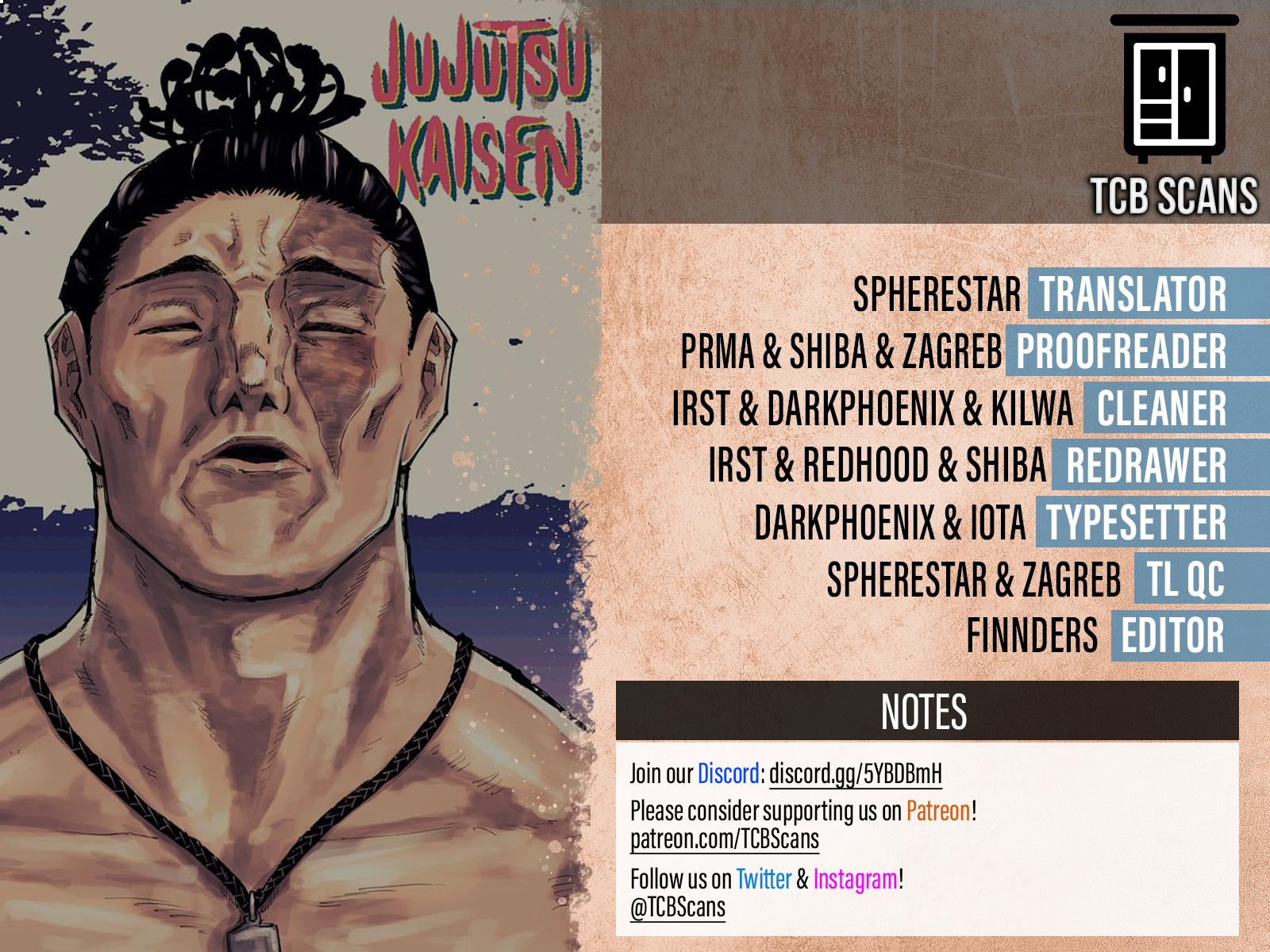 Jujutsu Kaisen, Chapter 161 image 02