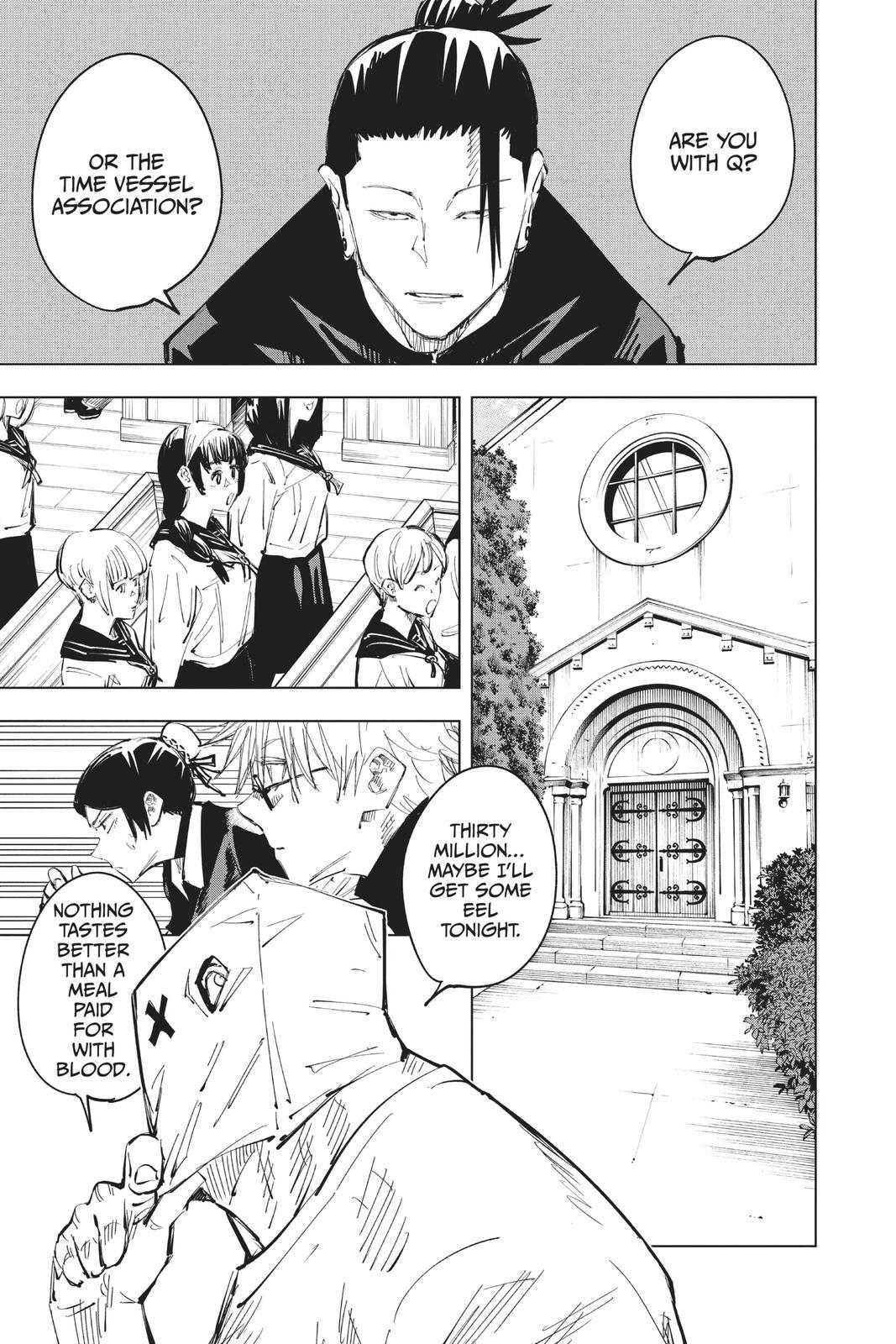 Jujutsu Kaisen, Chapter 68 image 017