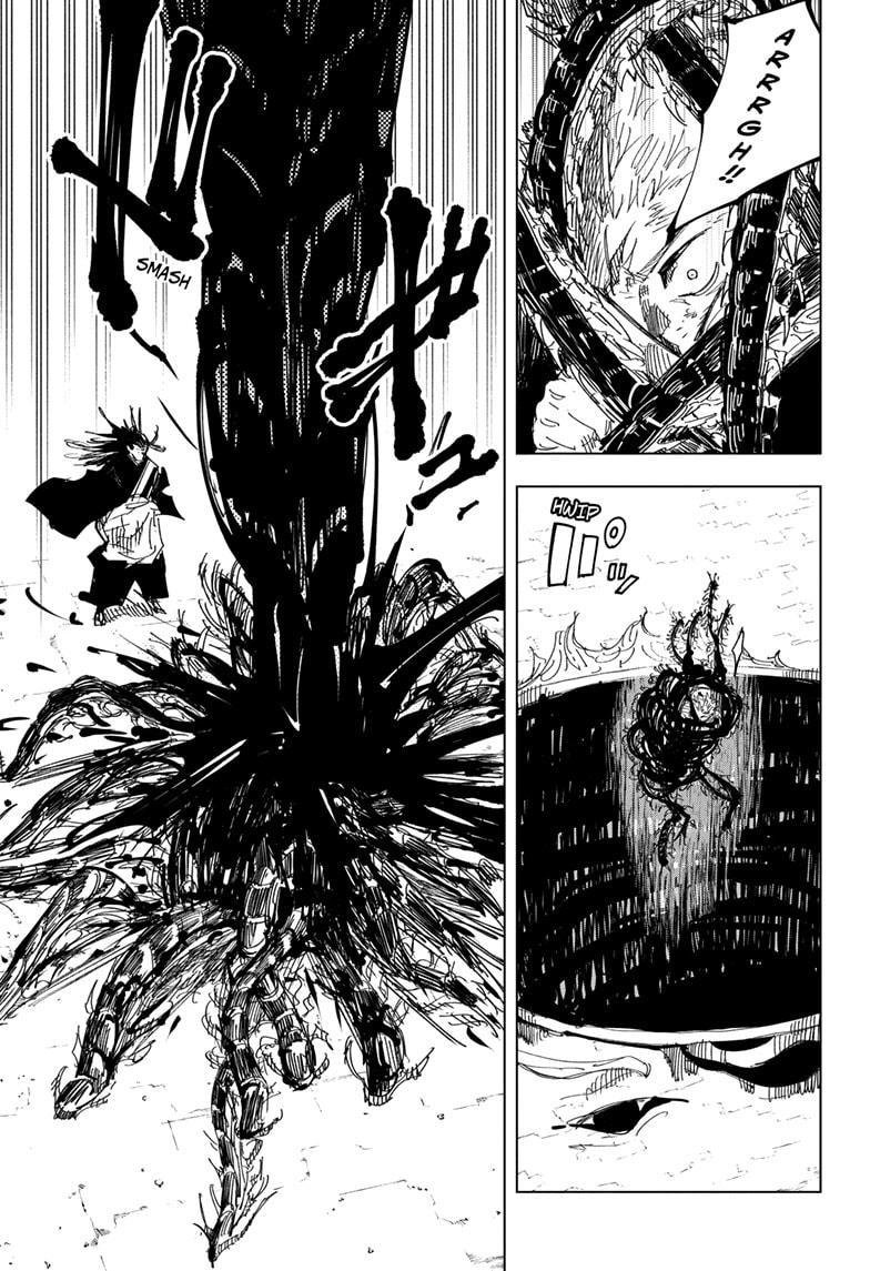 Jujutsu Kaisen, Chapter 133 image 015