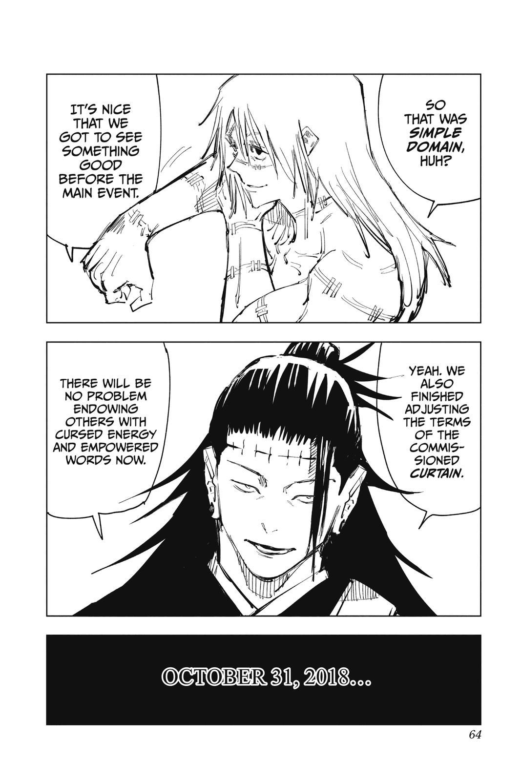 Jujutsu Kaisen, Chapter 82 image 017