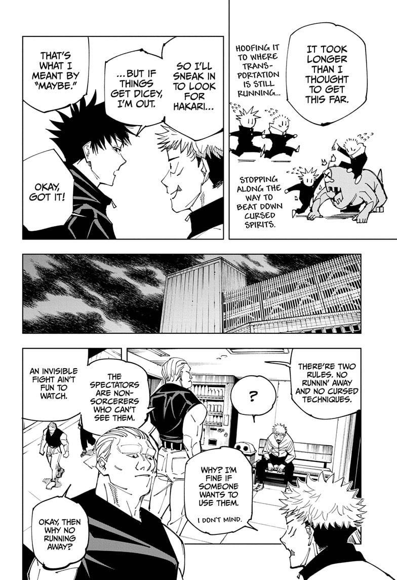 Jujutsu Kaisen, Chapter 153 image 008
